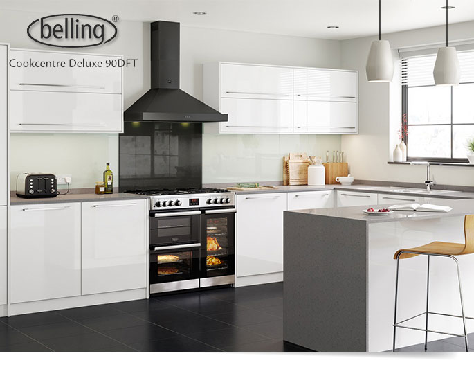 Belling Cookcentre Deluxe 90 vs Stoves Sterling 900 | Home