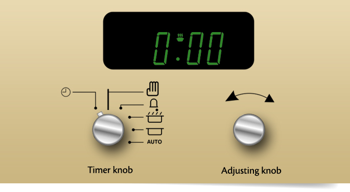 belling 6 button timer instructions