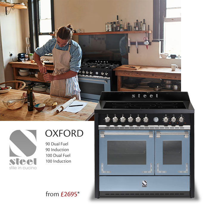the oxford range from steel cucine - stunning style, quality and ... - Steel Cucine