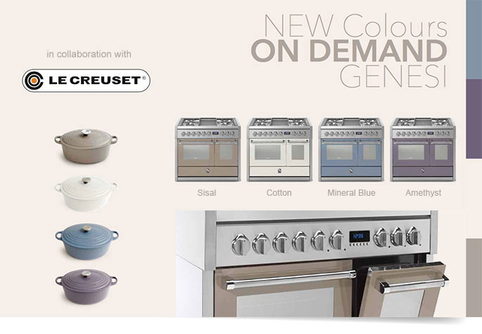 Steel Range Collection Now In Le Creuset Colours Home